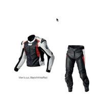 Jaqueta + Calca Conjunto De Couro Bmw Sport Suit - Importado