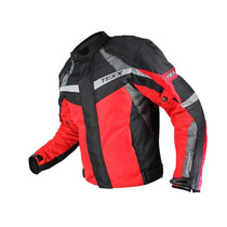 Jaqueta Texx Falcon Impermeável Moto Motociclista Vermelho