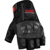 Luva Meio Dedo Blackout X11 Com Proteção De Borracha