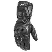 Luva X11 Impact Motociclista, Couro + Proteção + Cano Longo