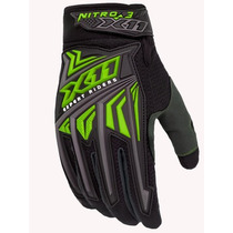 Luva Motociclista Nitro 3 Verde Neon - X11