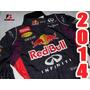 Macacão F1 Red Bull Vettel 2014