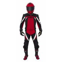 Macacão Couro Motociclista Texx Spirit 2 Peças