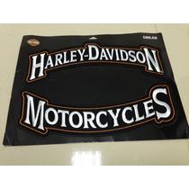 Kit Patch Harley Davidson Motorcycles Original 2 Peças Novo
