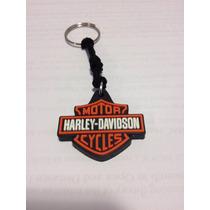 Chaveiro Harley - Davidson Emborrachado