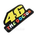 Log283 The Doctor 46 Rossi Macacão Moto Gp Patch Br Bordados