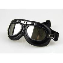 Óculos Motociclista Aviador Piloto Moto Atv Lente Espelhada