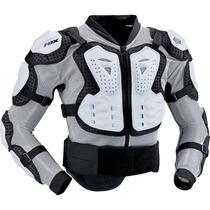 Colete Fox Titan Sport Branco Motocross, Motoqueiro, Moto