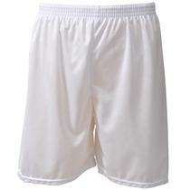 Calção + Meião Branco Kit Futebol P - M - G - Gg - $17,00