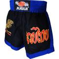 Shorts Muay Thai Bordado Tiger Microfibra Leve Treino Jugui
