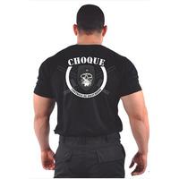 Camiseta Choque Helanca Light Lançamento Tática Militar