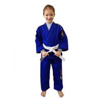 Kimono Infantil Judô Reforçado Bad Boy + Faixa Grátis