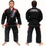 Novo Kimono Mkm Competition Preto - Koral Jiu-jitsu