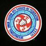 Atm102 Karate Shorin-ryu Tag Patch Bordado 9,5cm P/ Kimono