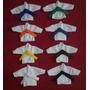 Coleção Mini Kimoninhos Karate Goju Ryu C/8 Unidades