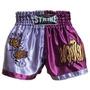 Shorts Muay Thai Kick Boxing - Lilás Com Roxo - M
