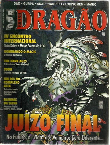 Julgamento Final a última Batalha Rpg-drago-brasil-n-18-ano-2-13685-MLB3308007193_102012-O