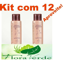 Kit Com 12 Produtos Sabonete Feminino Barbatimão 200ml