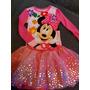 Conjunto Disney Minnie Blusa + Calça + Saia Tamanho 4