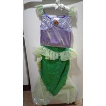 Fantasia Ariel Pequena Sereia - Original Disney !!!