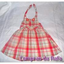 Vestido Infantil Gymboree T. Lilica Bota, Pituchinhus
