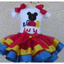 Fantasia Conjunto Tutu Minnie Mickey