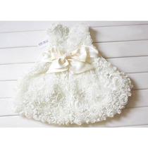 Vestido Batizado Princesa Menina Infantil