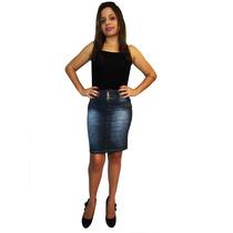 Saia Secretaria Bx - Mix Jeans