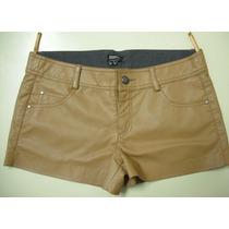 Shorts Em Couro Ecologico Tamanho 44