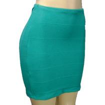Mini Saia Bandagem A Melhor Moda 2015 Online Diversas Cores