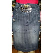 Saia Jeans Via Tolentino Nº 42 - Super Promoção