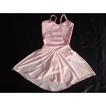 Collant E Saia De Ballet Infantil