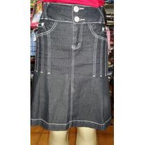Saia Jeans Via Tolentino Nº 40 - Frete Gratis - Promoção