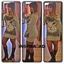 Lindo Vestido Em Moletinho E Sublimado Coleçao Inverno 2014