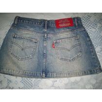 Mine Saia Jeans Colcci Tamanho 34 Veste 36