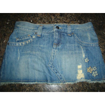 Mini Saia Jeans,bordada,marca Roxy,vintage,tamanho 36