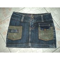 Mini Saia Jeans - Usada