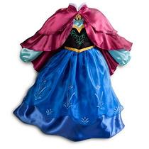 Fantasia Disney Frozen Ana Original - Pronta Entrega Rj