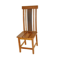 Cadeira Ripada Com Fibra Reta / Mc