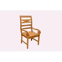 Cadeira Indonésia Com Braço / Mc