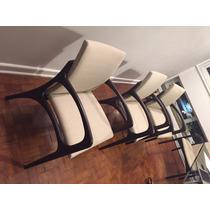 Conjunto Com 8 Cadeiras De Jantar Designer Jader Almeida