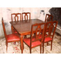 Mesa De Jantar Chipandele 6 Cadeiras Maciça Peroba Do Campo