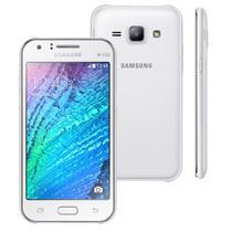 Celular Desbloqueado Samsung Galaxy J1 Duos Branco Webfones