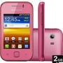 Samsung Galaxy Y S5360 Rosa 3g Wifi Gps Wifi Whatsapp Nacion