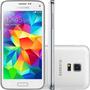 Samsung Galaxy S5 Mini Duos 16gb G800h 8mp, Tela 4.5 Branco