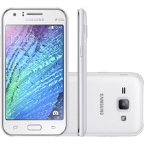 Smartphone 4g Galaxy J1 Duos J100m Android 4.4 Kitkat Branco