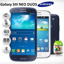 Galaxy S3 Neo Duos Dual I9300i 3g Quadcore 1.4ghz Câm 8.0 Nf