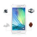 Celular Samsung A300 A3 Duos Branco 4g Orange