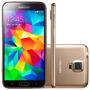 Samsung Galaxy S5 Duos G900m Dourado 4g Tela 5.1 16gb