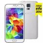 Smartphone Samsung Galaxy S5 Sm-g900m Branco Com Tela 5.1 ,